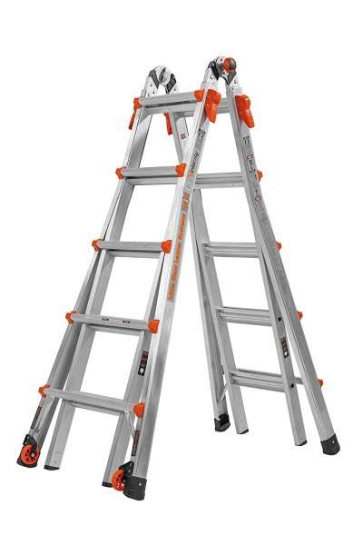 2.Little Giant 22-Foot Velocity Multi-Use Ladder-Multipurpose Ladders
