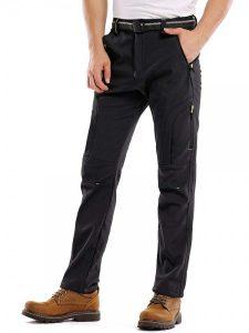 water-resistant pants