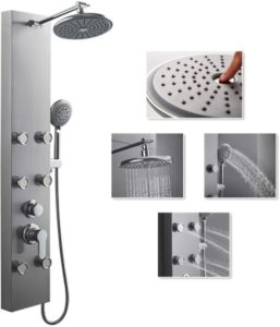 shower panel tower system