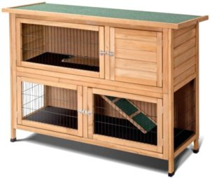 outdoor rabbit house