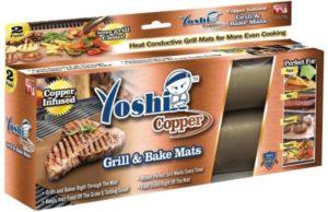 copper grill mats