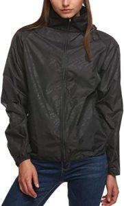 Black Rainproof Jacket