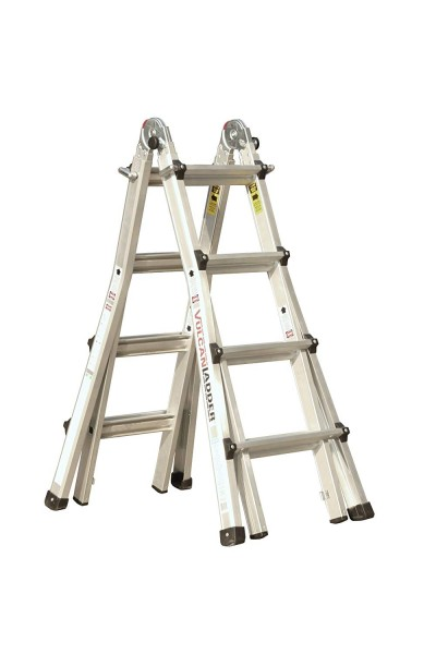 9.Vulcan Ladder USA 3600735401986540 Stepladder Multi-Task Alu 17Ft