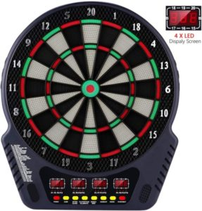 Portable electronic dart board