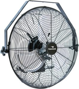 Wall-mounted fan