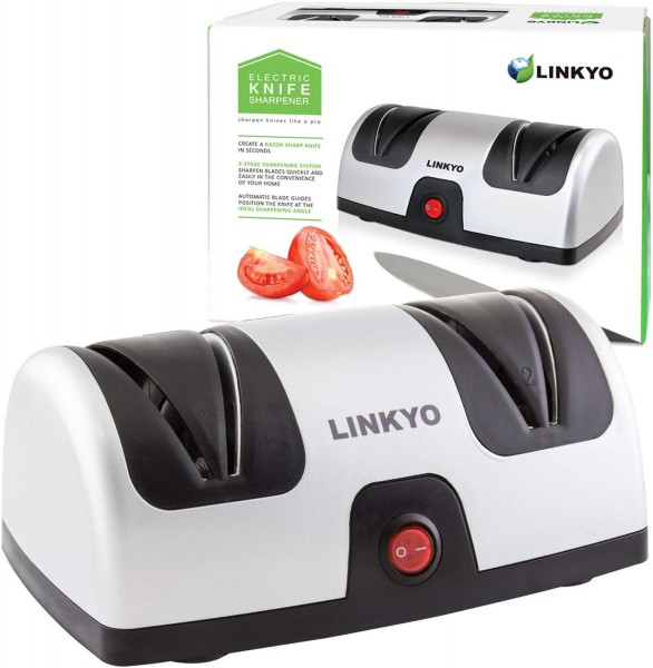 1. LINKYO Electric Knife Sharpener
