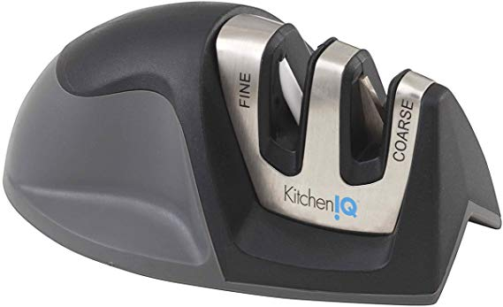 5. KitchenIQ 50009 2Stage Edge Grip Electric Knife Sharpener