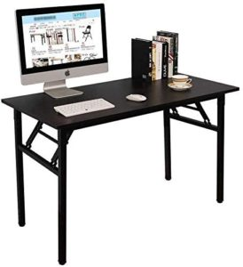 Folding Table Computer Desk, No Assembly Required