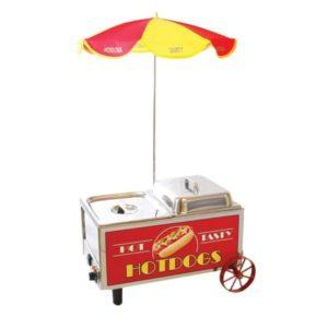 Mini Cart Hotdog Steamer
