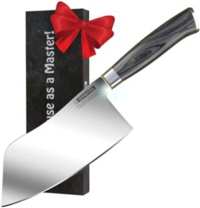 High Carbon German Steel Chinese Cleaver Butcher Knife