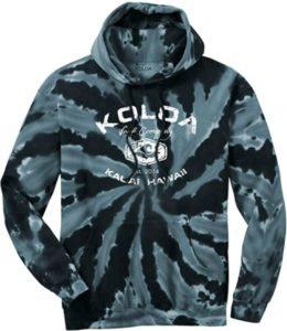 Koloa Surf Graphic Tie-Dye Sweatshirts for Men