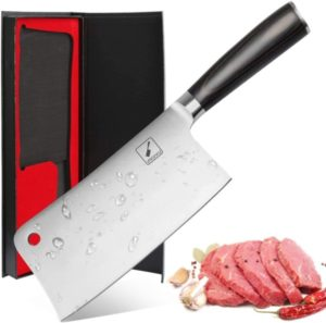 Imarku Cleaver Knife 7 Inch German High Carbon Stainless Steel Chopper