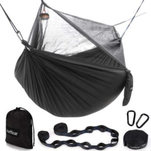 Sunyear Hammock Camping with Net/Netting & 2 Tree Straps