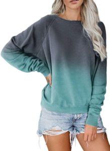 Ombre Crewneck Sweatshirt