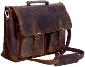 KomalC 18 Inches Briefcase Laptop Bag for Man