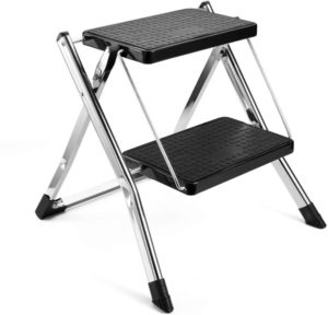 Delxo 2 Step Stool Stepladders