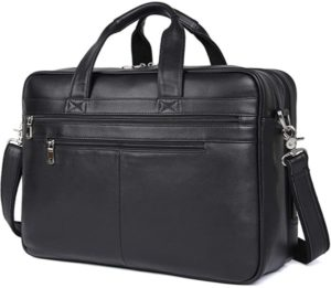 "Soft Leather 17"" Laptop Case"