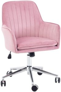 Home Office Desk Task Velvet Home Computer Chair