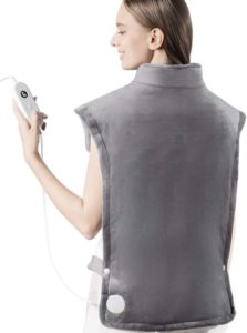 iTeknic Heating Pad for Back Pain Relief