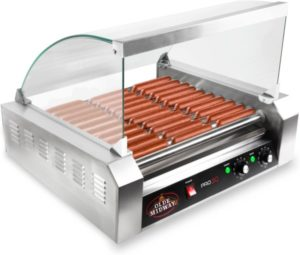Olde Midway ROLL-PRO30-CVR Grill Cooker Machine