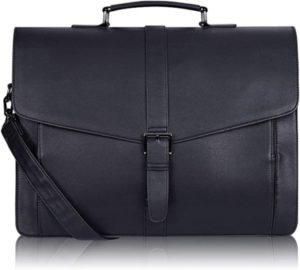 Men's Leather Briefcase for Travel and Office