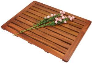 Utoplike Teak Wood Bath Mat
