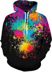 Spreadhoodie Unisex Tie-Dye Sweatshirts for Men
