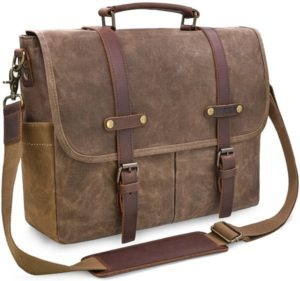 Newhey Man Leather Laptop Bags