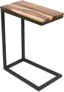 TV Tray C Shaped Side Table
