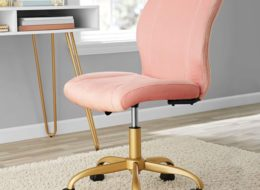 MST Elegant Plush Office Chair