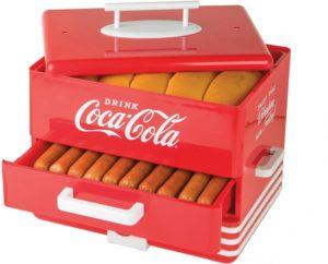 Diner-Style Steamer for 24 hot dog
