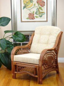 lounge wicker armchair