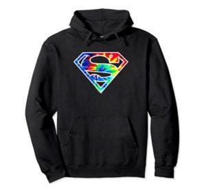 Superman Tie-Dye Sweatshirts for Men